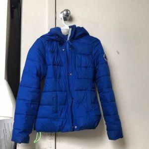 blue abercrombie jacket